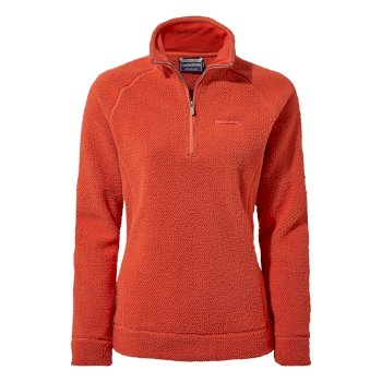 Craghoppers Ambra Half-Zip - Rio Red