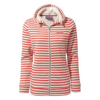 Craghoppers Charmene Jacket - Rio Red Stripe