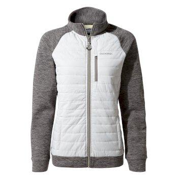 Craghoppers Abree Hybrid Jacket - Platinum