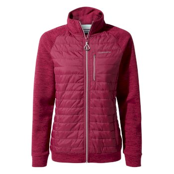 Craghoppers Abree Hybrid Jacket - Pink