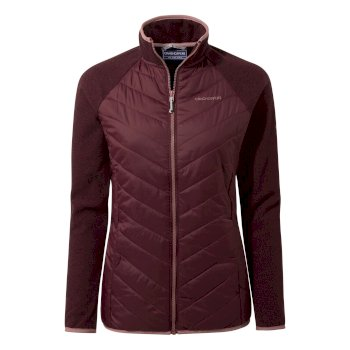 Craghoppers Raissa Hybrid Jacket - Wildberry