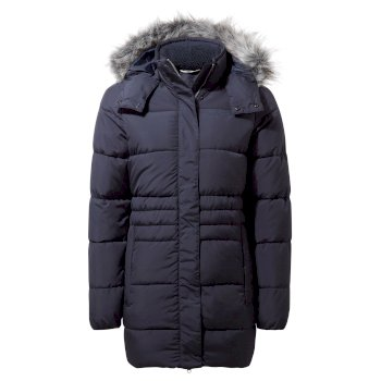 Craghoppers Savita Hooded Jacket - Blue Navy