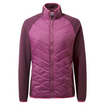 Craghoppers Aubrie Hybrid Jacket - Blackcurrant