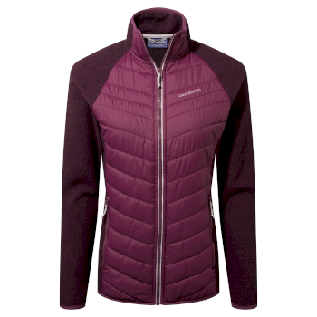 Craghoppers Cary Hybrid Jacket - Blackcurrant