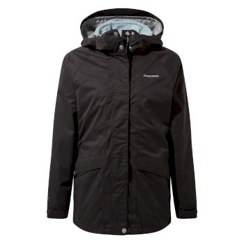 Craghoppers Ellerby 3 in 1 Jacket - Charcoal / Frost Blue