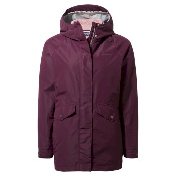 Craghoppers Zienna 3 in 1 Jacket - Potent Plum