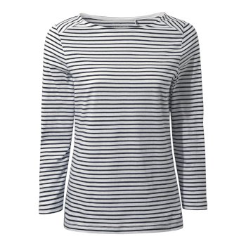 Craghoppers Blanca Long Sleeve Top - Blue Navy Stripe