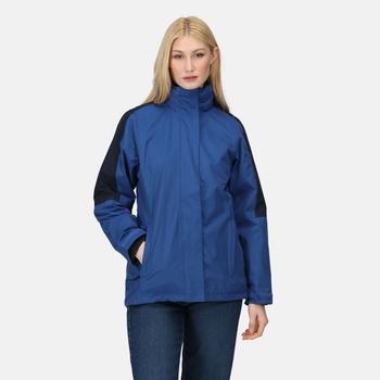Defender III wasserdichte 3-in-1-Jacke für Damen Blau