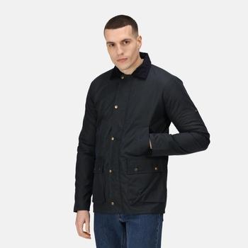 Banbury wasserabweisende Wachsjacke für Herren Blau