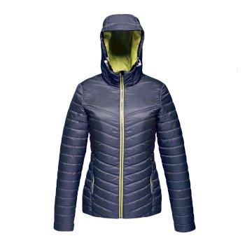 Acadia II daunenweiche Jacke für Damen Blau