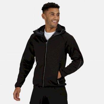 Men's Helsinki Stretch Softshell Jacket Black