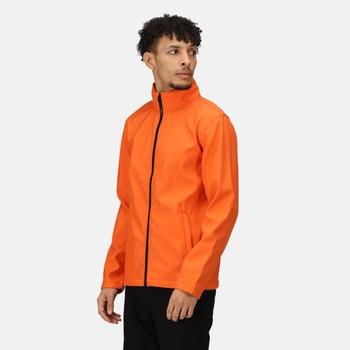 Ablaze Bedruckbare Softshelljacke für Herren Orange