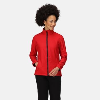 Ablaze Bedruckbare Softshelljacke für Damen Rot
