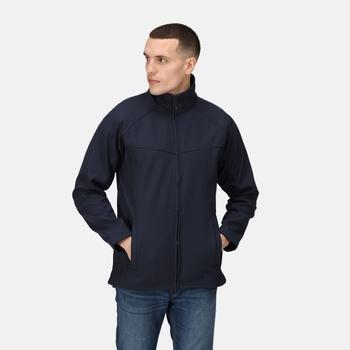 Uproar Interactive Softshell-Jacke für Herren Blau