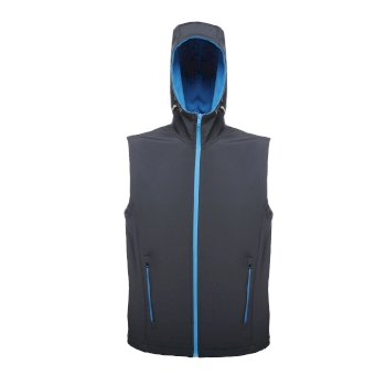 Arley Hooded Herren Softshellweste Marine Blau