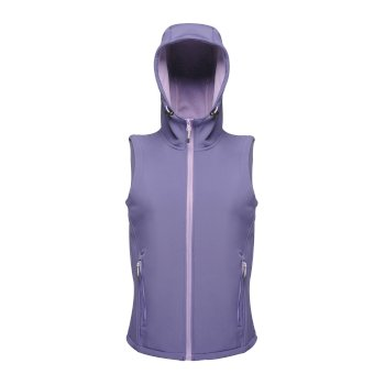Arley Hooded Damen Softshellweste Violett