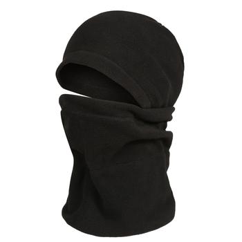 Fleece-Kapuzenschal für Erwachsene Black