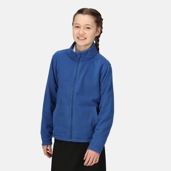 BrigadeII Fleece mit durchgehendem Reißverschluss für Kinder Blau