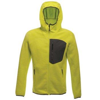 Coldspring - Herren Hybrid-Fleecejacke mit Kapuze - elastisch Gelb