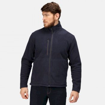 Honestly Made Recycelte Fleecejacke für Herren Blau