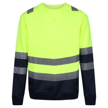 Hi-Vis Sweatshirt für Herren Yellow