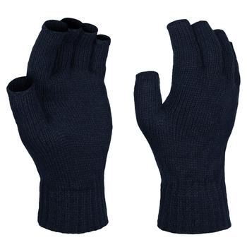 Fingerlose Thermohandschuhe für Herren Blau