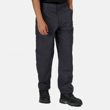 Regatta Men's Multi Pocket Action Trousers - Dark Grey
