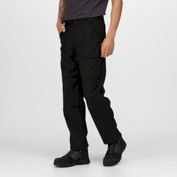 Men's Lined Action Trousers Black