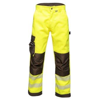 Tactical Hi Vis Robuste, reflektierende Hose für Herren Gelb