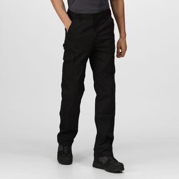Pro Cargohose mit mehreren Taschen für Herren Schwarz