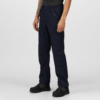 Action Pro Hose mit mehreren Taschen für Herren Blau