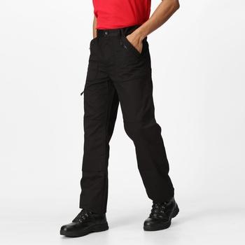 Action Pro Hose mit mehreren Taschen für Herren Schwarz