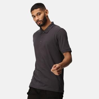 Classic Poloshirt für Herren Grau