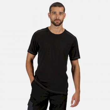 Men's Beijing Lightweight Cool and Dry T-Shirt Black