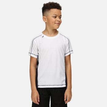 Kids' Beijing T-Shirt White Navy