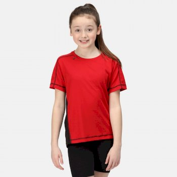 Kids' Beijing T-Shirt Classic Red Black