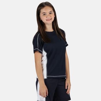 Kids' Beijing T-Shirt Navy White