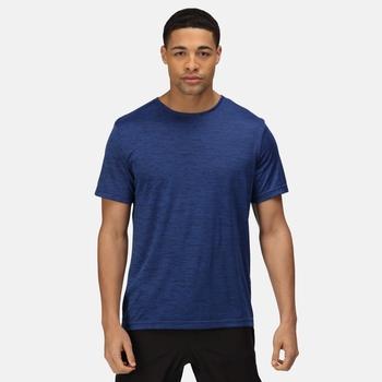 Antwerp Marl T-Shirt für Herren Blau