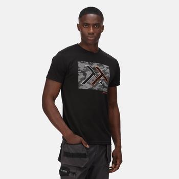 Dread T-Shirt für Herren Schwarz