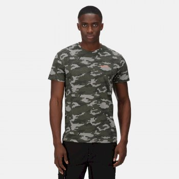 Dense T-Shirt für Herren Dark Khaki